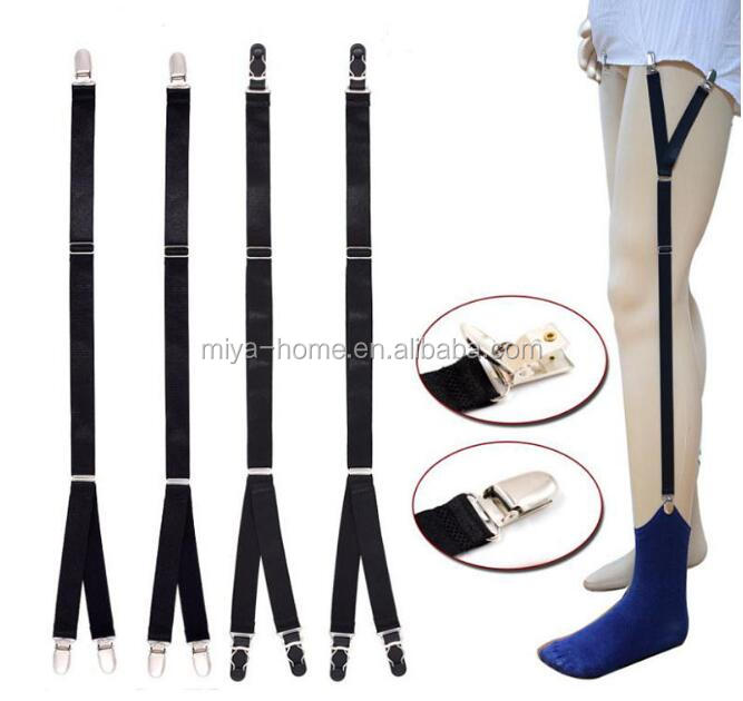 Shirt Holder garters wide hook suspender for boy