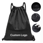 Hot sale large waterproof custom drawstring bag