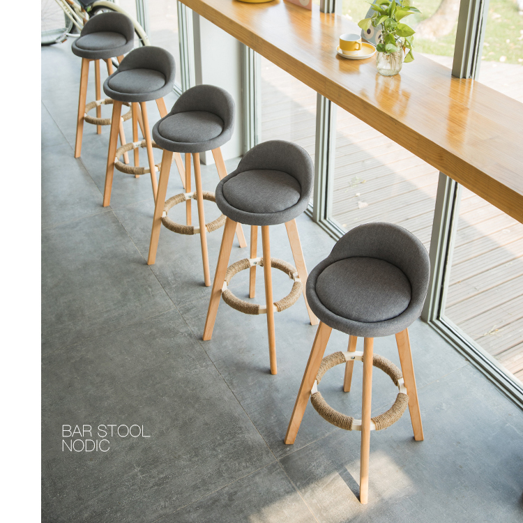 Bar Chairs Tall Antique Industrial Vintage Rustic Back Kitchen Leather Fabric Modern Swivel Wooden Cheap High Stool Bar Chairs