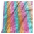The factory outlet rainbow pattern stage costume foil printed fabric