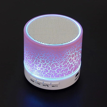 Christmas Promotion Gift Wireless Portable Bluetooth Speaker Mini LED Music Audio TF USB FM Outdoor Speaker