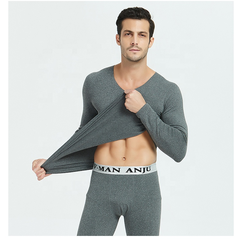 Factory directly provide solid color high quality thermal underwear custom thermal underwear