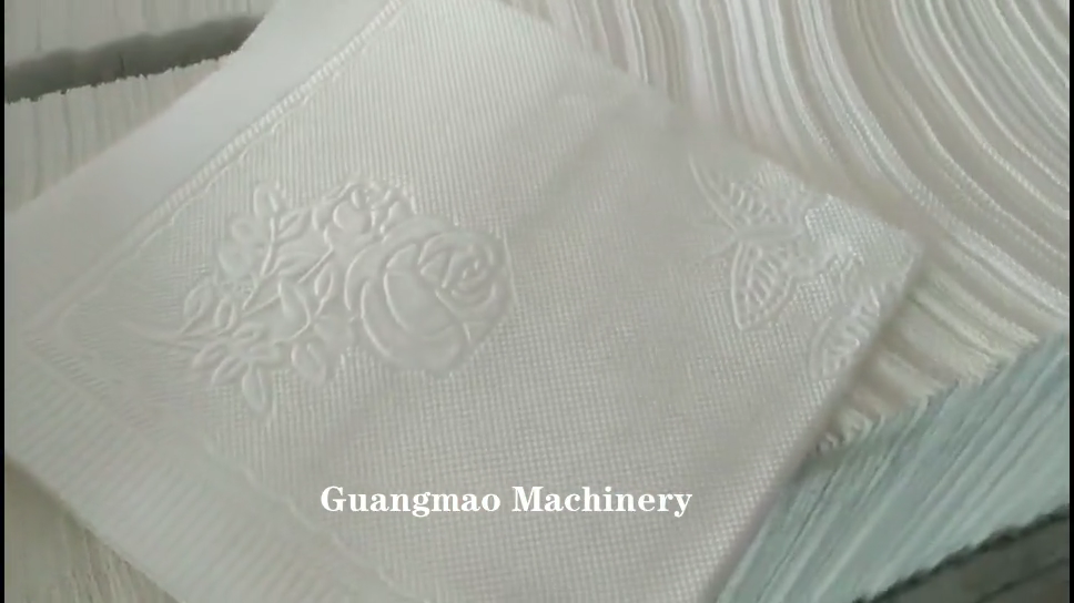 Малый бизнес лицевая ткань рулон туалетной бумаги делая машину салфетки Складная машина цена