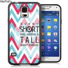 MaiYaCa BFF лучшие друзья пара подходящая мягкая резиновая крышка для телефона для samsung Galaxy S6 S7 S8 S9 edge S10 Plus Lite Note 8 9 чехол(Китай)