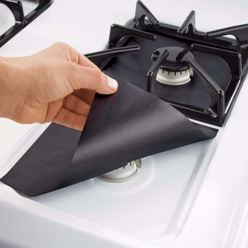 non-stick hob cooker fiberglass oven surface scratch burner protection gas stove protection stovetop top protector mat pad