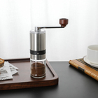Coffee Hand Coffee Mill 2020 New Design Stainless Steel Espresso Turkish Portable Camping Mini Unique Hand Manual Coffee Bean Grinder Mill Manual