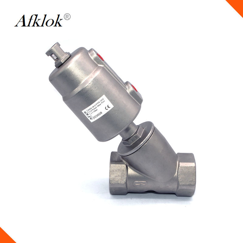 Stainless Steel Pneumatic Pressure Control Valve Low Resistance Long Lifespan