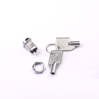 Toowei Top Quality Metal Zinc Alloy 2 Position Key Lock Switch 2A 125VAC/4A 250VAC