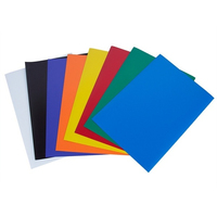 Color Rubber Magnet Self Adhesive Flexible Magnetic Sheet A4 Magnetic Paper