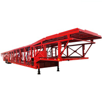 Manufacturer 6-8 cars 2/3 Axles Car Carrier trailer for sale