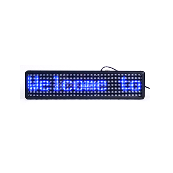 Professional custom led display panels/16x96 led message sign/moving text LED sign panels for shop