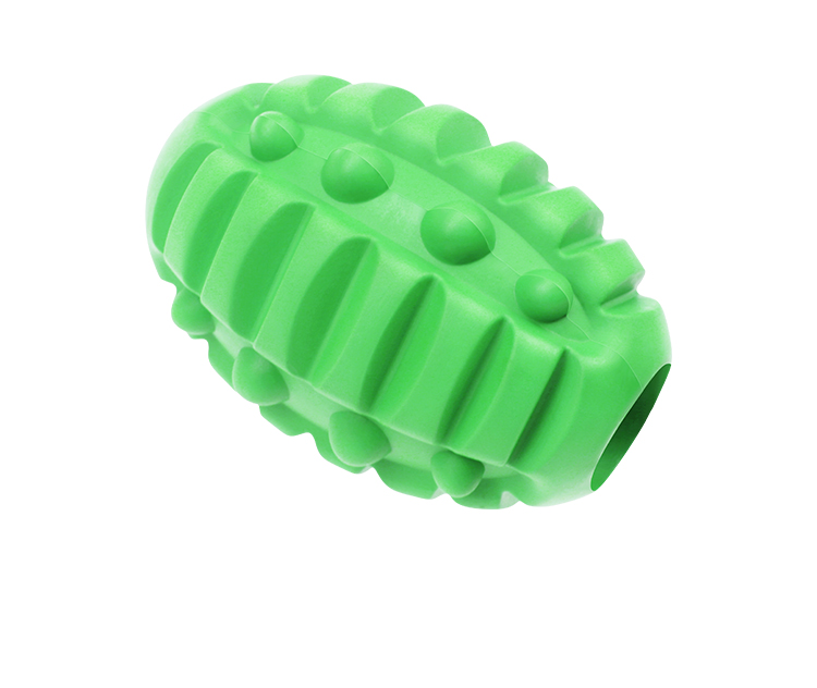 Food Sprinkler Dog Toys Eco-friendly dispensing rubber pet