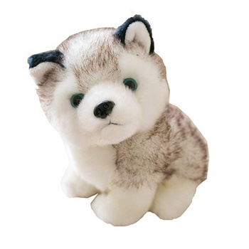 wholesale simulation custom animal stuffed plush real doll dog toy