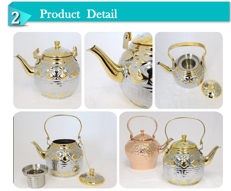 Wholesale Middle East Stainless Steel vacuum jug coffee tea pot  (OSUJ)