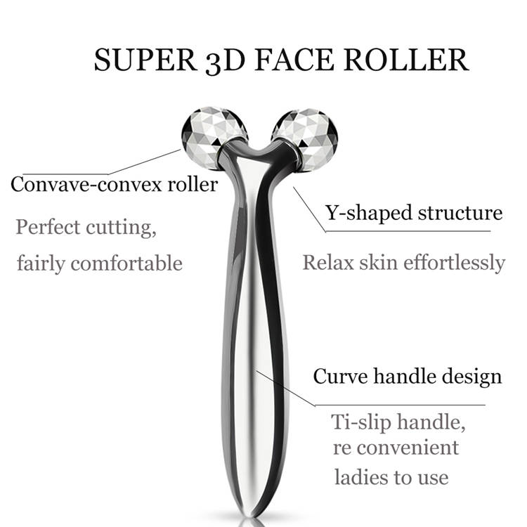 Suitable and convenient for massaging  face electronic vibrating facial massager for sale