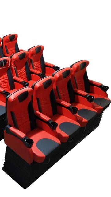 4 oyuncu lüks 9D VR sanal gerçeklik 9D oyun salonu oyun makinesi eğlence ekipmanları VR merkezi