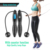 2020 New Jump Rope Adjustable Digital Counting Jump Rope Kids Women Men Skipping Ropes