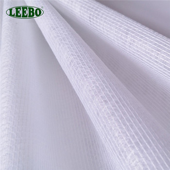 Mesh types of waterproof fabric materials by the yard