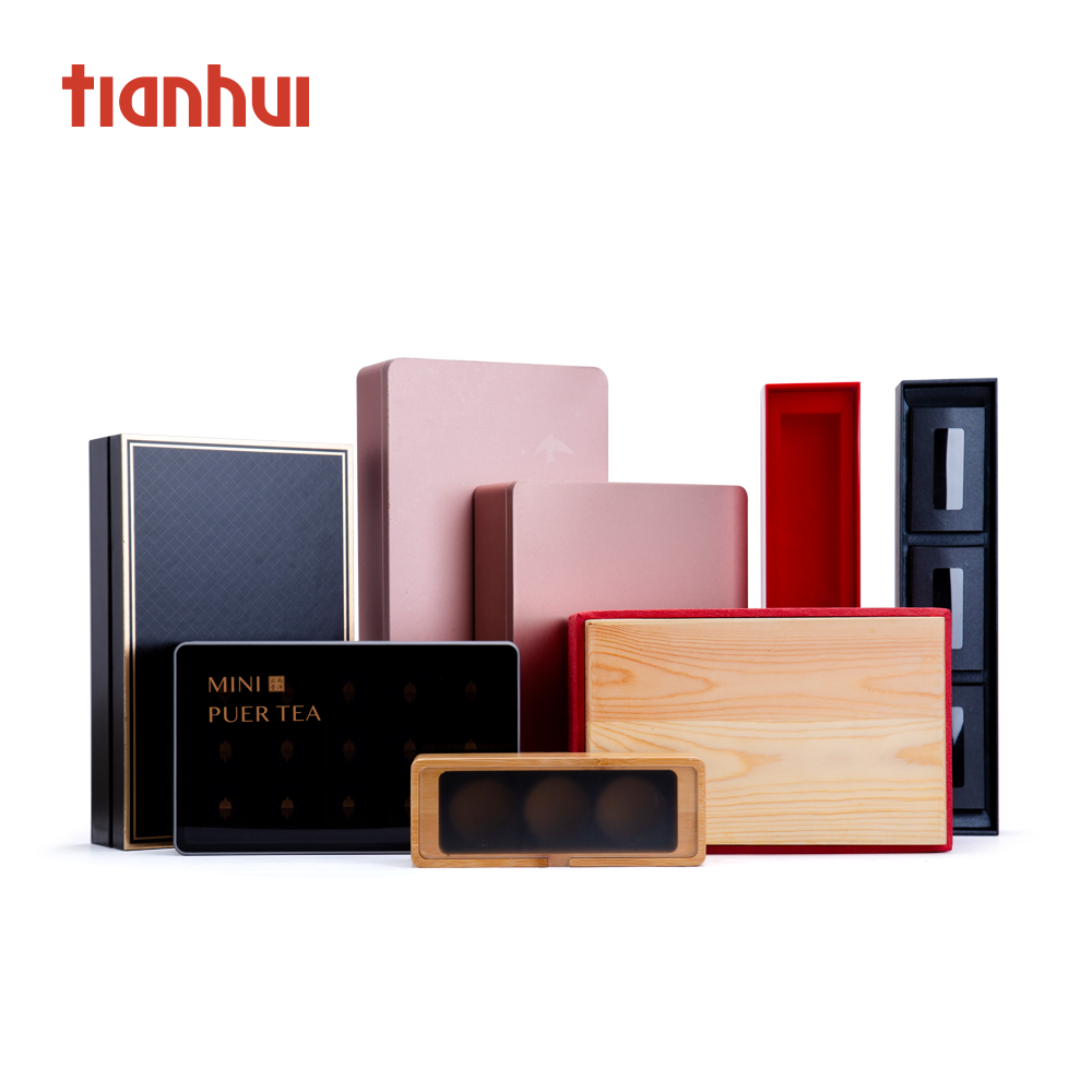 Manufacturer Wholesale Luxury Jewelry Tea Packaging Makeup Tins Metal Candy Box Printed Metal Box