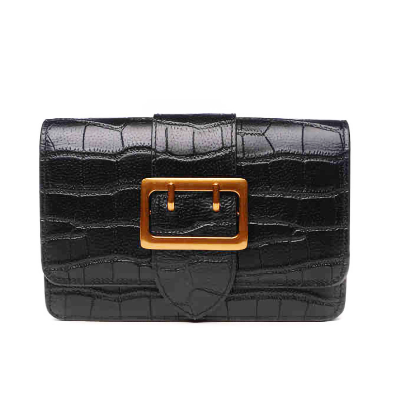Women Fashion Crocodile <strong>Leather</strong> night <strong>Clutch</strong> Purse