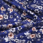 Digital Printing Stretch Silk Charmeuse Fabric Printed Silk Fabric For Fashion Women Garments and Scarves