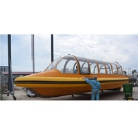 28seats FRP Water Taxi Passenger Ship for sale