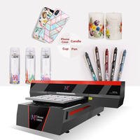 Multi Purpose High Speed Inkjet Led Flatbed UV Printer for Mobile Phone Case Wood Glass