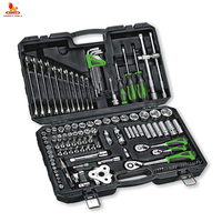 Professional 123 pcs 1/4 inch 1/2 metric wrench socket set for tool set