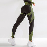 In Stock Latest Trend Dry Fit Gym Custom Sportswear Running Yoga Pants Outfits Fitness Women High Waist Leggings Seamless