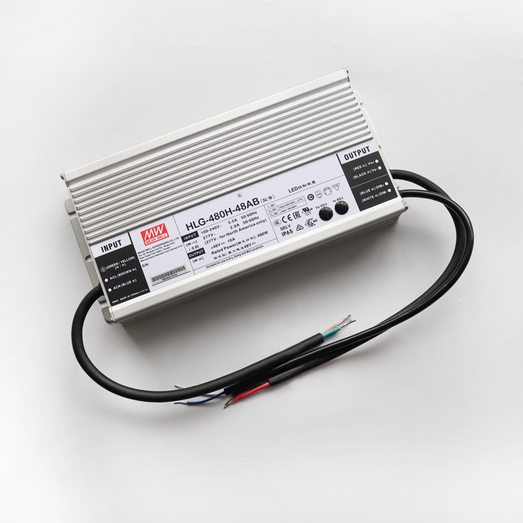HLG-480H-48B or AB, Meanwell LED driver for quantum grow light