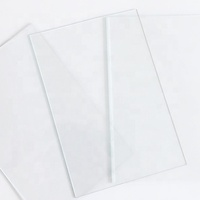 Normal size clear float glass thick 1.0-3.0mm for photo frame