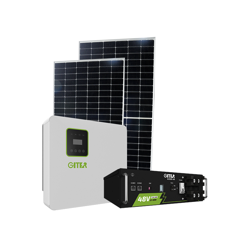 Home Solar Energy 5kW Complete On Grid Off Grid Complete Set Solar System