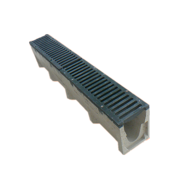 V shaped cable roofing hydrollic sliding resin drain channel