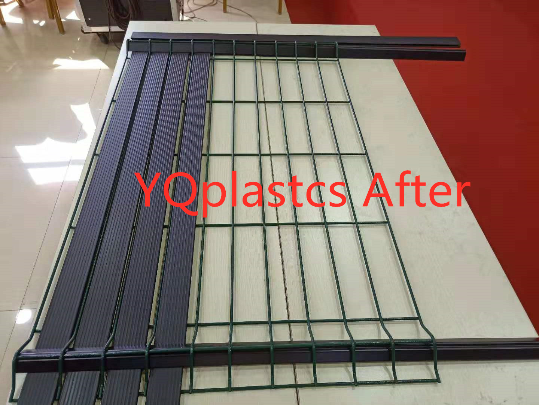 Yqplastics Plastic Extruder Pvc Fence Hart Pvc Zaun Sichtschutz