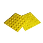 Rubber Blind Tpu Tactile Indicator TPU Rubber PVC Plastic Blind Tactile Tile Warning Indicator Plate Paving