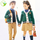 Design Spring Season Student Uniform Sweater Dress Pants Shirts Kid School Uniform For Nursery Primary