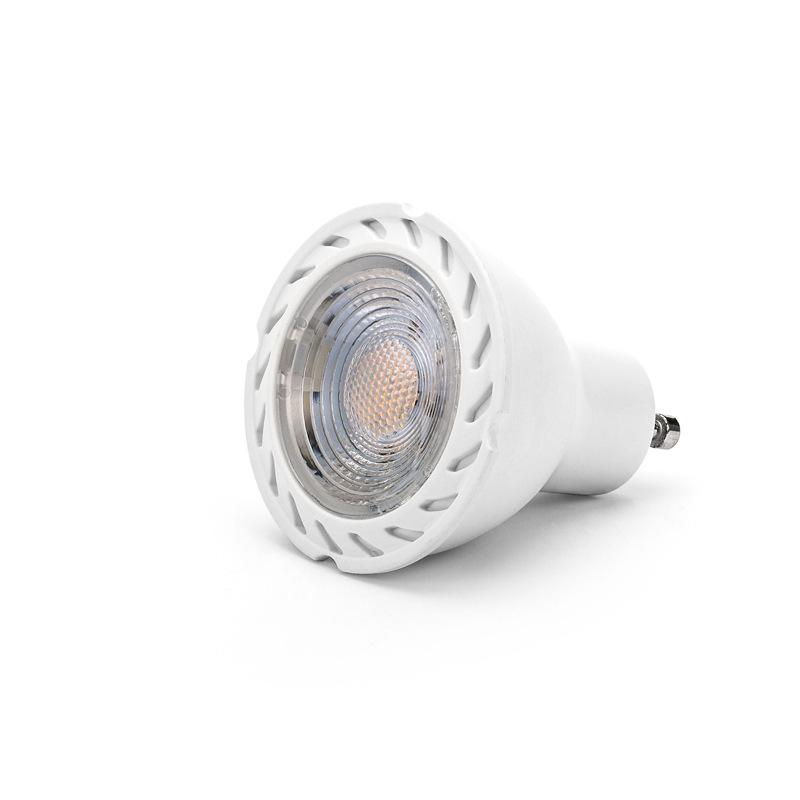 High Efficiency CE RoHS LOGO Customized Aluminum  dimmable 8W LED COB GU10 COB spotlight