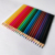 Free sample 24 colors wood barrel colored lead colour pencil for school and office