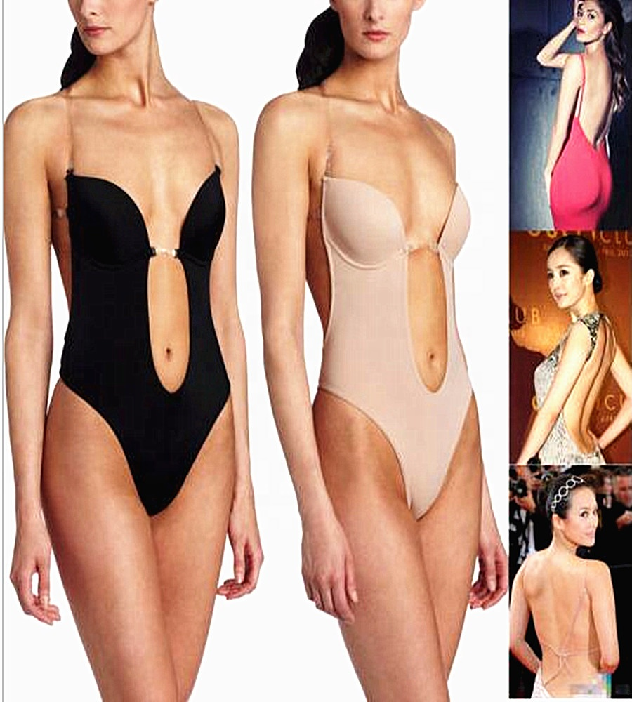 Strapless bodysuit shapewear