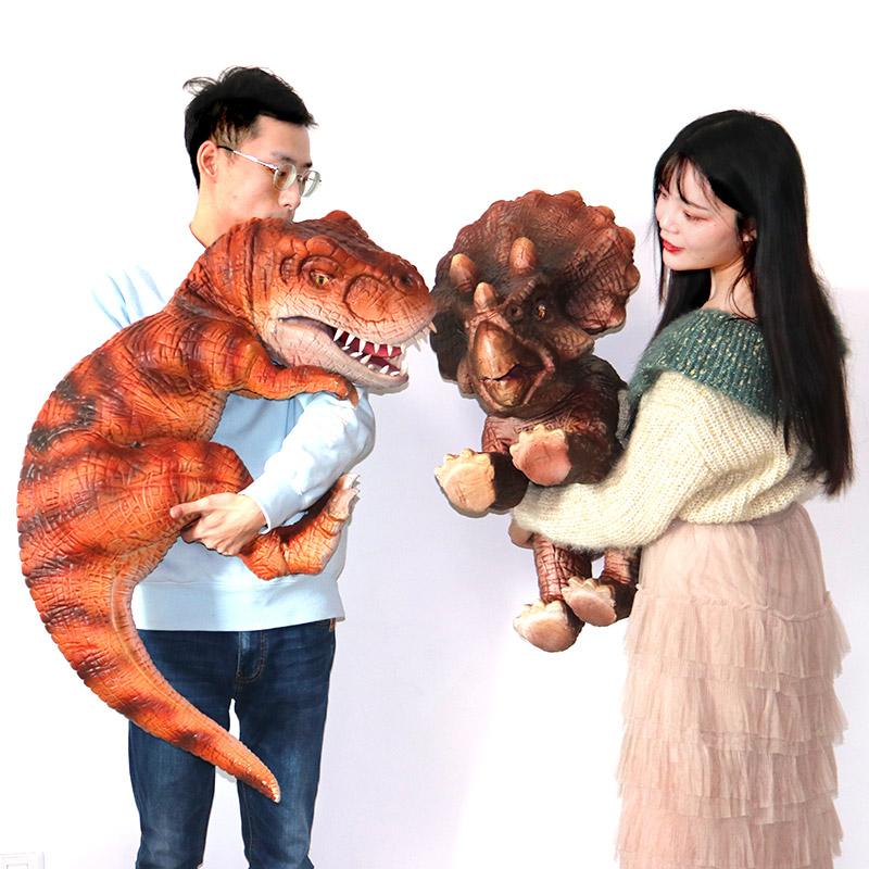 Cute Hand Control Baby Animatronic Dinosaur Puppet <strong>for</strong> <strong>Sale</strong>