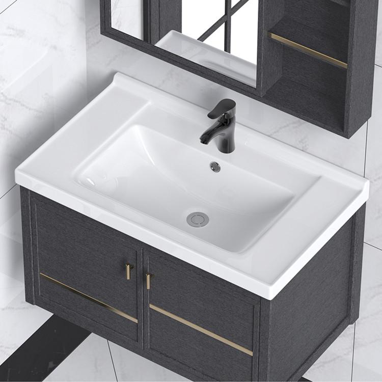 Hiện Đại Tủ Quầy Hình Chữ Nhật Rửa Lavabo Rửa Tay Phòng Tắm Lưu Vực Bồn Rửa