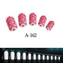 24 шт., искусственные ногти, розовые детские милые накладные ногти, ногти для маленьких девочек(Китай)