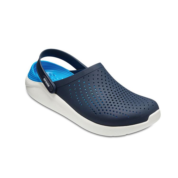 Summer popular indoor outdoor anti-slip breathable garden shoes flat mens clogs