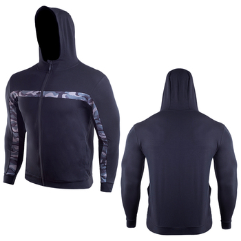 Hot Selling Cotton Comfortable Fitness Outdoor Sweat Basketball Muscle Running Casual Sports Hooded for Men