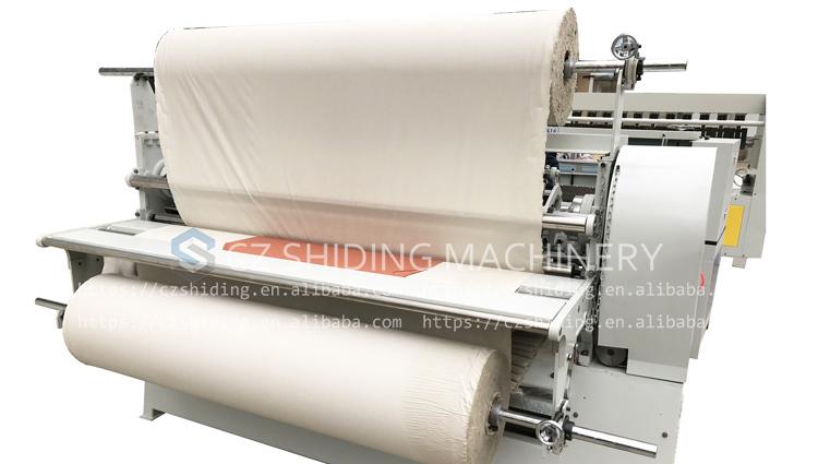 Kristal plise makinası SD-416