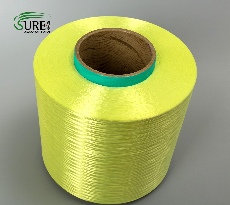 Light Weight PPTA Aramid Fiber Filament 1670DTEX For Optical Fiber Cable