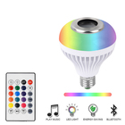 Color changing led dimmable bulb light 12w rgb multicolor wifi remote E27 led smart bulb