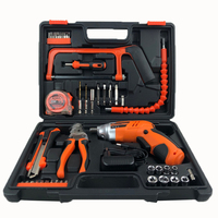 Household Power Tool Band Box 47pcs Combination Impact Drill Set