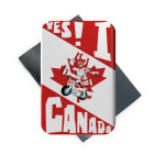 Yes We Are Canada Foil Metal Magnet Popular Souvenir Gifts Fridge Magnet