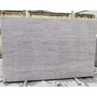 Honed silver grey dragon marble slab